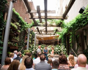 Intimate Wedding at Talula's Garden