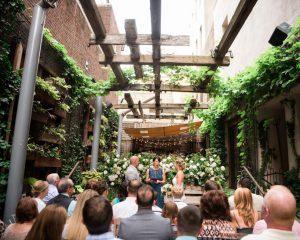 Intimate Wedding at Talula's Garden