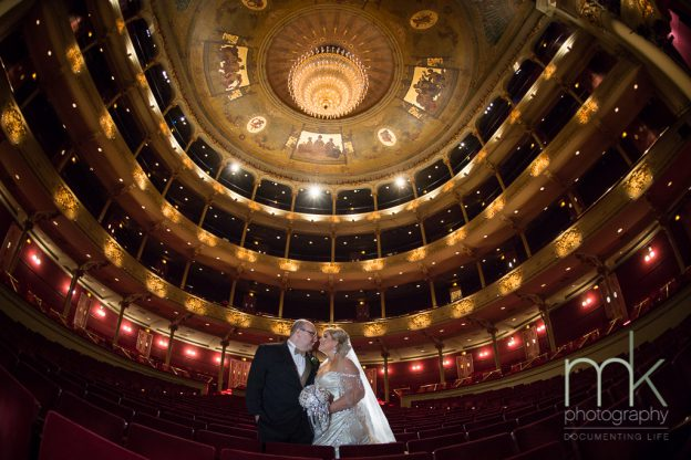 Heather & Gene at the Academy of Music, Philadelphia | Flutter Social
