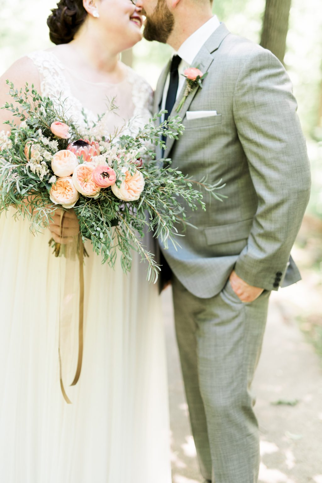 Laid Back Summer West Chester Wedding