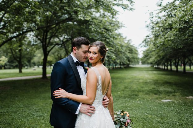 Spring Horticulture Center Wedding