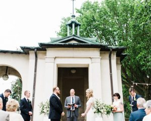 Chic Spring Wedding at American Swedish Museum