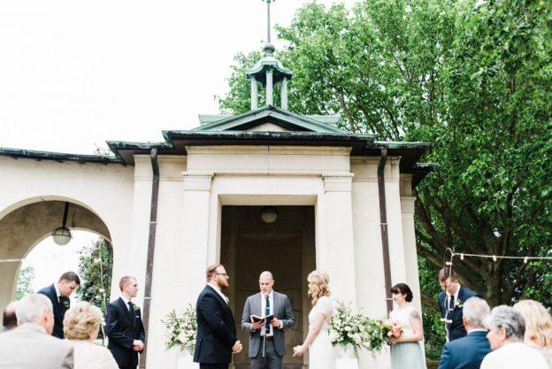 Wedding at American Swedish Museum - Ceremony