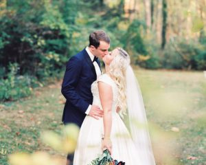 """Gustav Klimt """"The Kiss"""" Inspired Fall Wedding at The Old Mill at Rose Valley"""