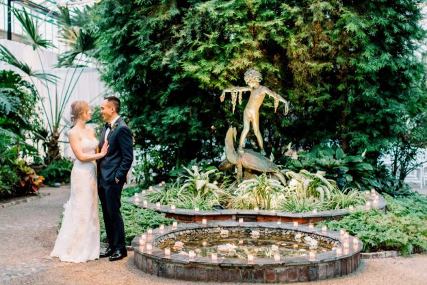 Garden Wedding at Horticulture Center | Mario & Christina | Flutter Social