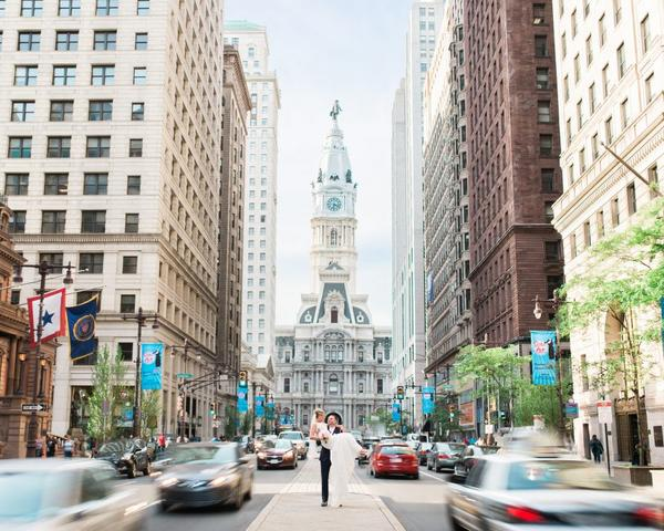Kelly + Ryan — Classic Center city Cescaphe Ballroom Wedding