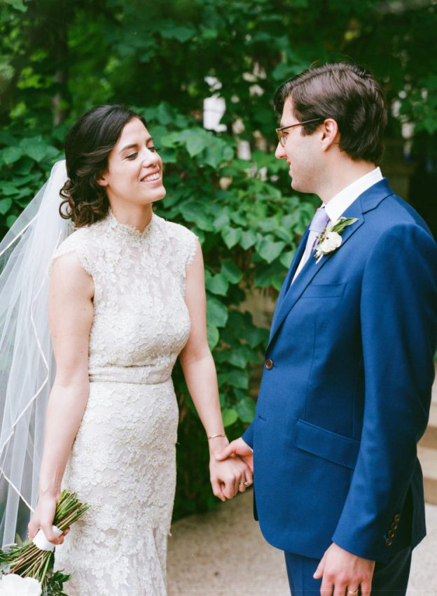 First look at Josephine Butler Parks Center Wedding