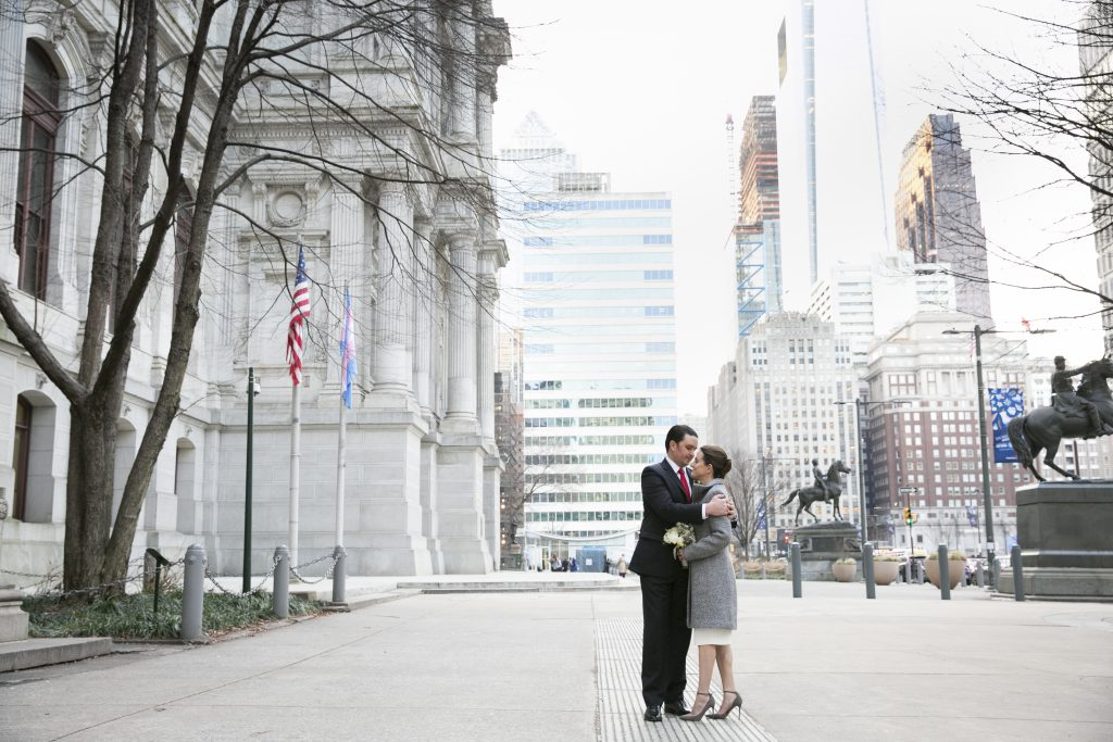 City Hall Wedding in Philadelphia