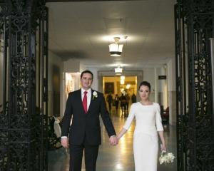 Diana and Ricky's Small Philadelphia City Hall Wedding