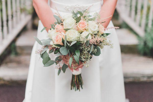 Bride's bouquet at Springton Manor Farm wedding