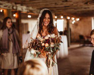 Gaby & Jordan's Wedding at Historic Penn Farm and Barn
