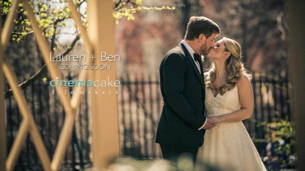 Bride and groom kiss at Westin Hotel Philadelphia Wedding. Photo by Biada Photography. Videography by Cinemacake