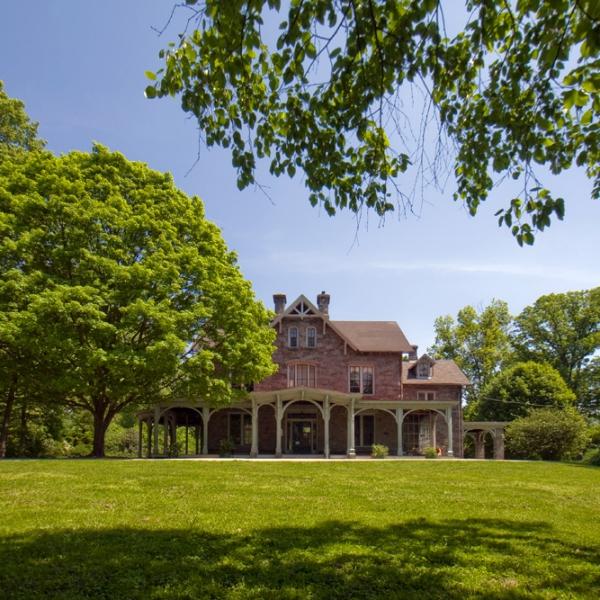 Cope House at Awbury Arboretum