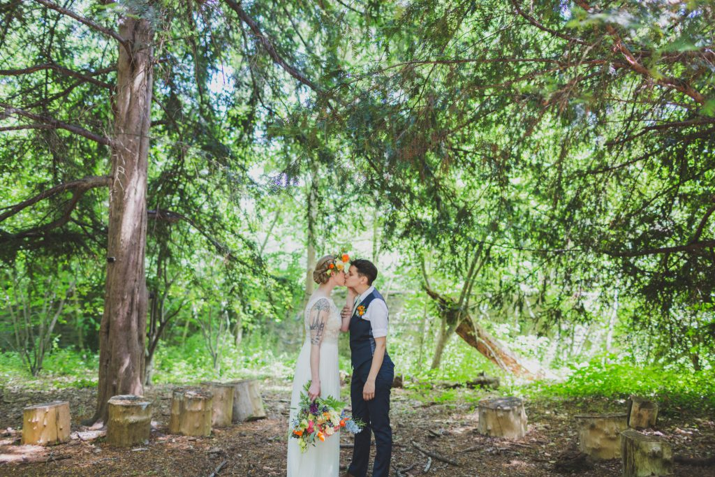 Weddings at Awbury Arboretum