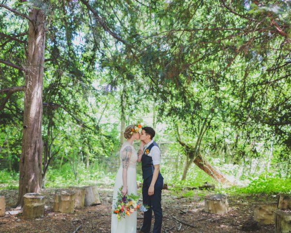 Weddings at Awbury Arboretum
