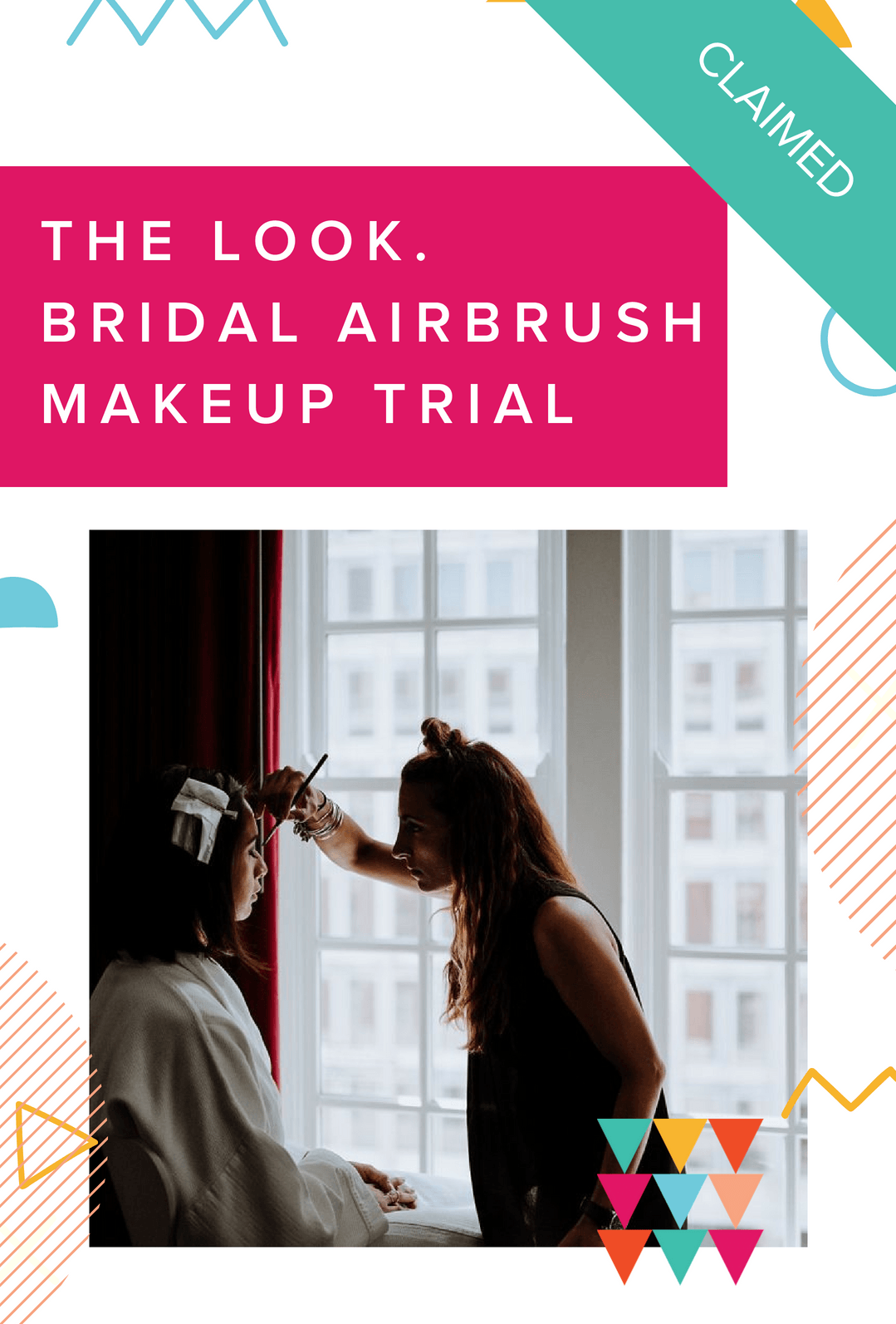 Spring into Wedding Planning - Aleksandra Ambrozy makeup application prize claimed