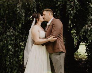 Suzanne and Patrick Goodale Park Columbus Ohio Wedding