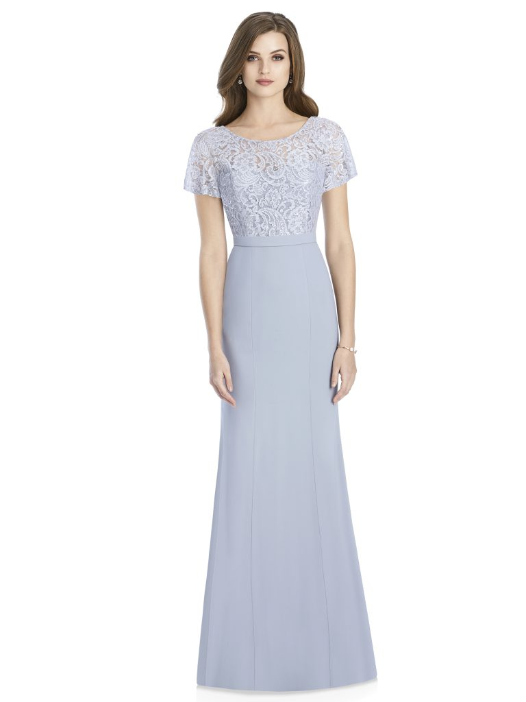 Jenny Packham by The Dessy Group, Pale Blue Bridesmaid Dress – Front