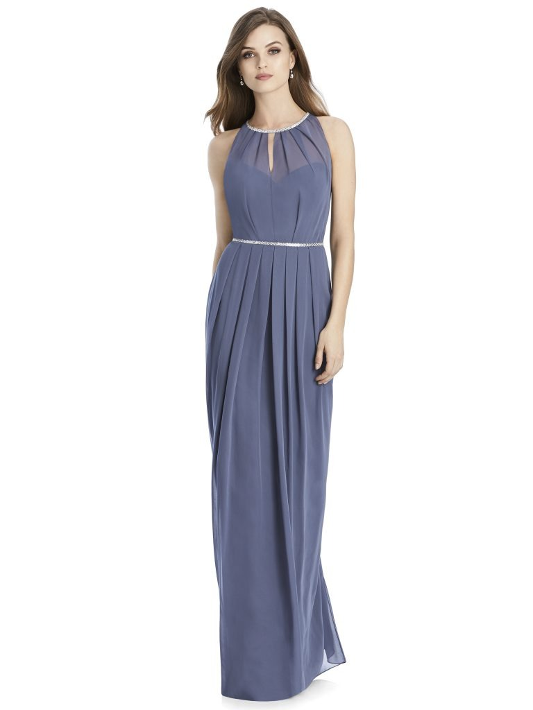 Jenny Packham by The Dessy Group, Periwinkle Bridesmaid Dress – Front