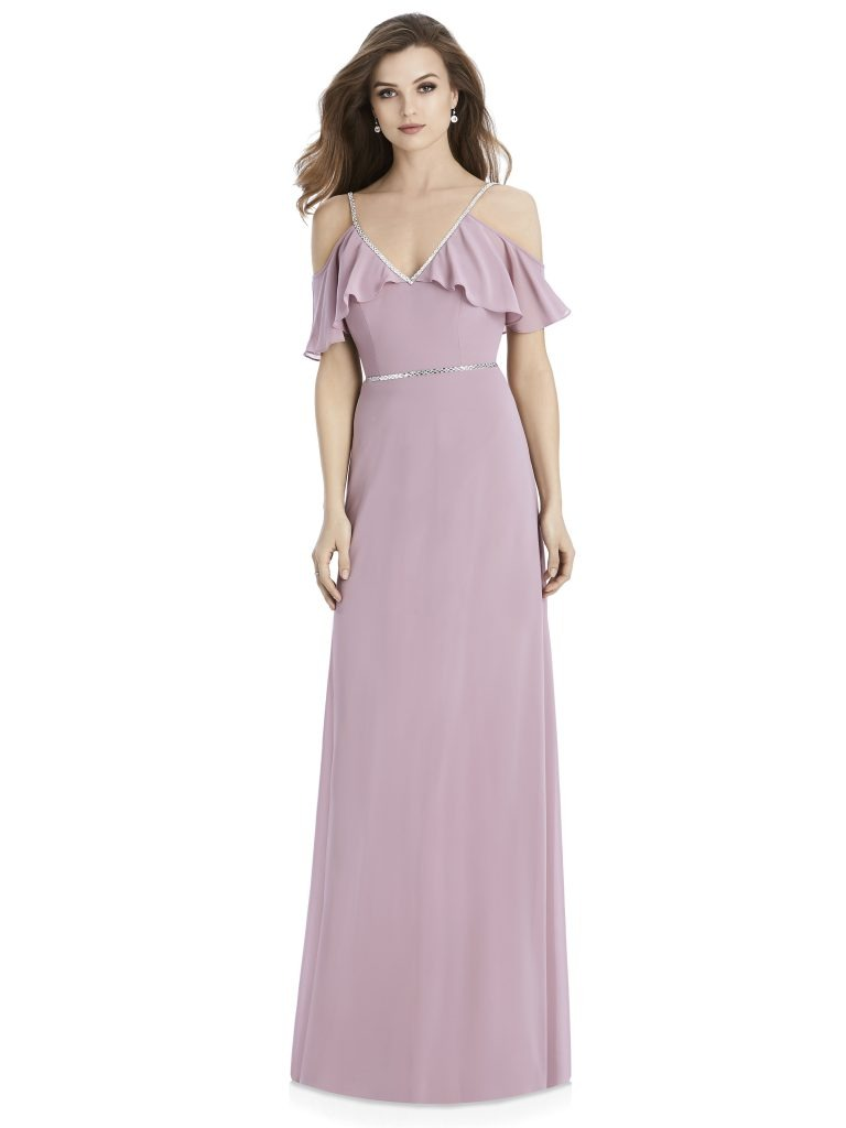 Jenny Packham by The Dessy Group, Light Purple Bridesmaid Dress – Front