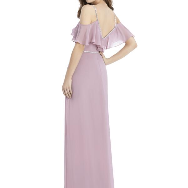 Jenny Packham by The Dessy Group, Light Purple Bridesmaid Dress – Back