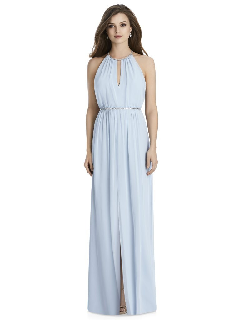 Jenny Packham by The Dessy Group, Light Blue Bridesmaid Dress – Front