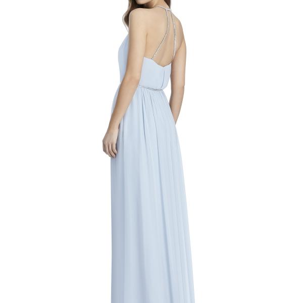 Jenny Packham by The Dessy Group, Light Blue Bridesmaid Dress – Back