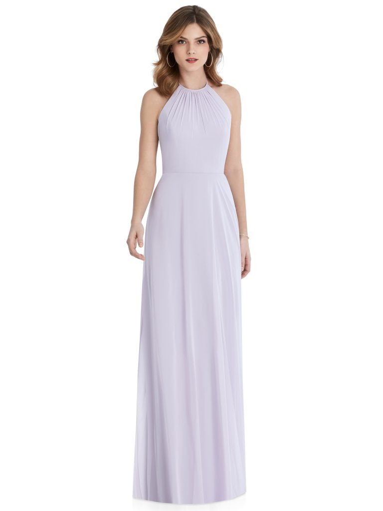 Light Purple Bridesmaids Dress, Dessy Group by The Dessy Group – Front