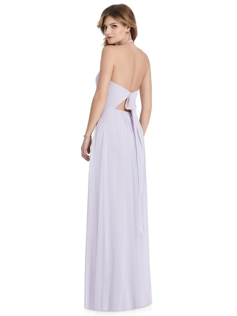 Light Purple Bridesmaids Dress, Dessy Group by The Dessy Group – Back