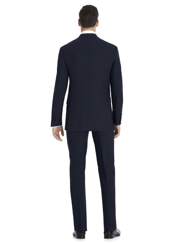 Navy and Black Suit Rental by After Six – Back