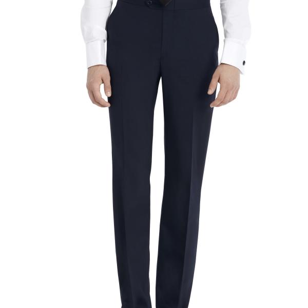 After Six Suit Rental – Navy Suit Pants – Front