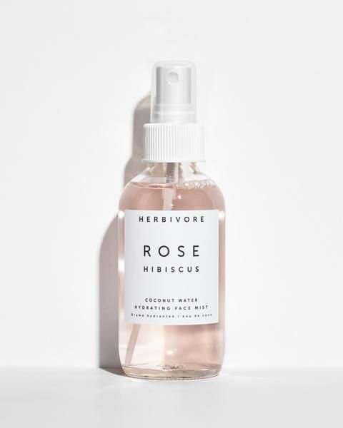 Herbivore Rose Hibiscus face mist bottle