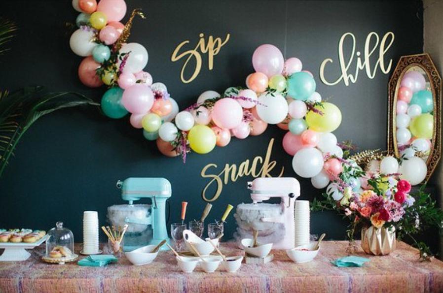 Wedding Bars: Ice Cream + Dragon's Breath Popcorn