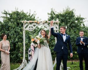 Rodale Institute Orchard Wedding