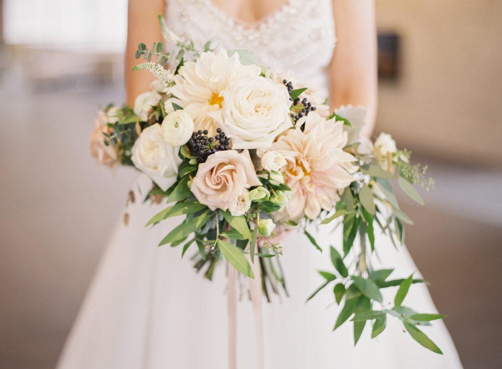 Muted Wedding Bouquet