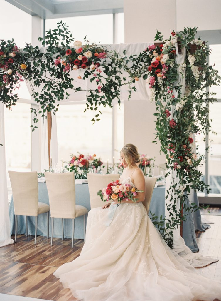 Romantic Wedding Flower Decor