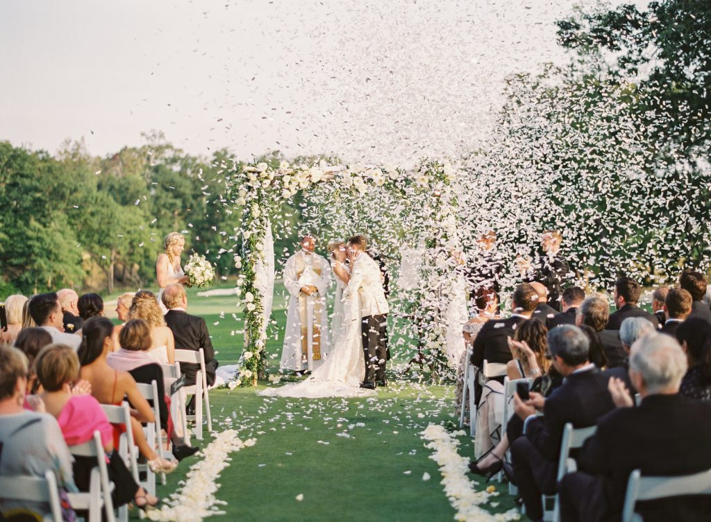 Rose Petal Confetti for Wedding