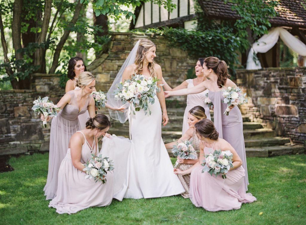 Light Purple Bridesmaids Dresses