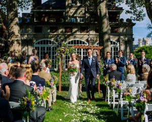 Garden Party Wedding at The Glidden House