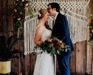 Angie & Andy's Wedding at Brookside Farm
