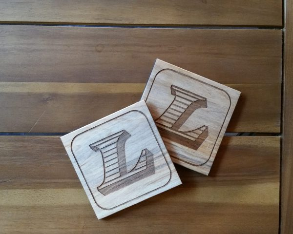 accessories such as custom coasters, hanging pendants and more!