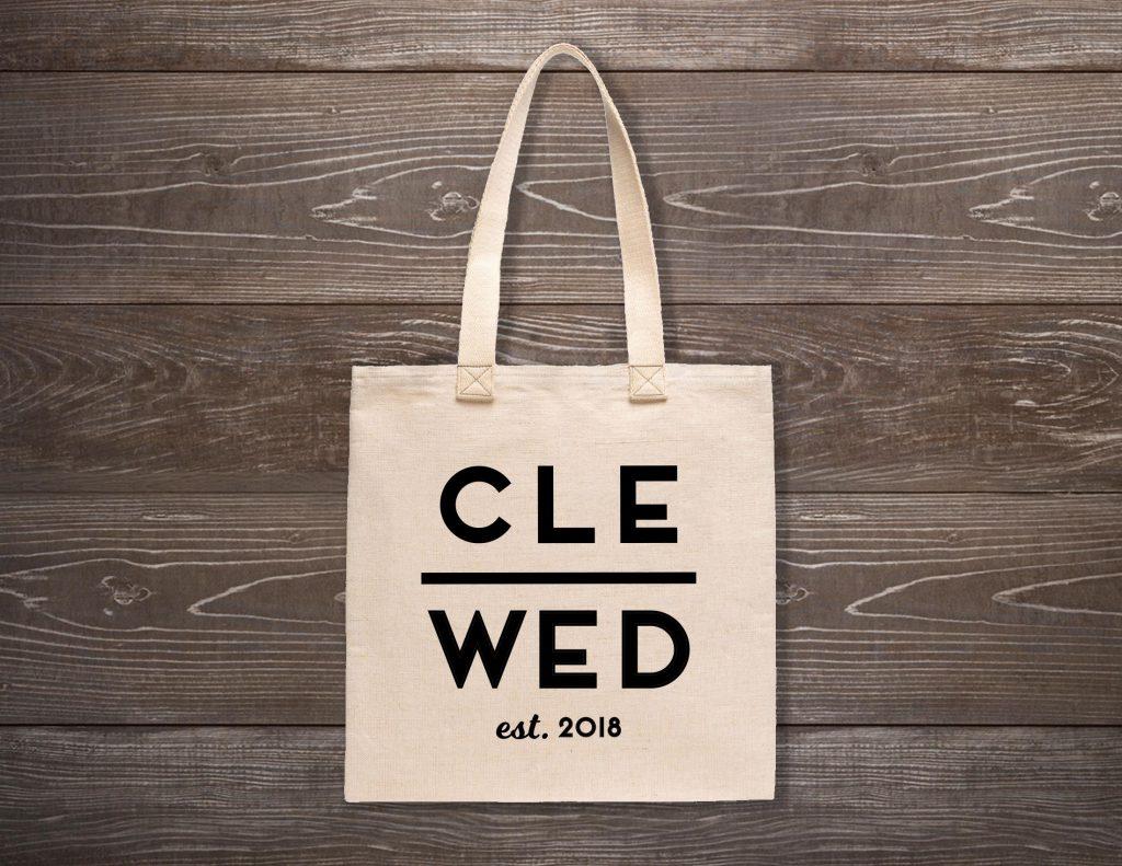 Cle Wed Custom Tote Bag