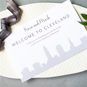 Impress Welcome to Cleveland Card