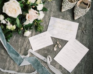 Chelsea + Ty's Cleveland-inspired Dusty Blue Wedding