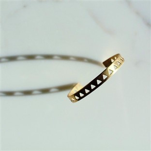 Bombay taxi triangles bracelet
