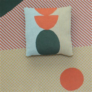 Corageous Collection Pillow Cover and Blanket by Dittohouse