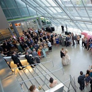 Wedding at Akron Museum of Art