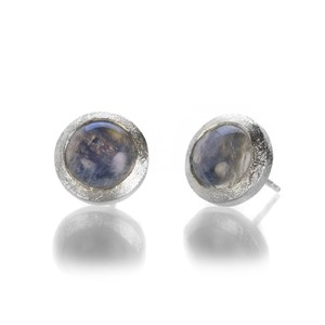 The W Gallery Rainbow Moonstone Earrings