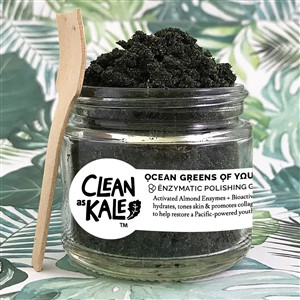 Clean as Kale Ocean Greens of Youth Scrub
