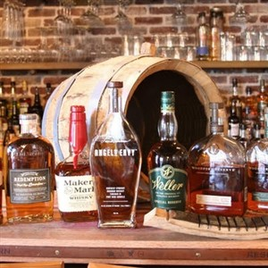Selection of Bourbons for Bourbon 101 Class and Tasting